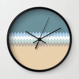 Beach Color Combo Wall Clock