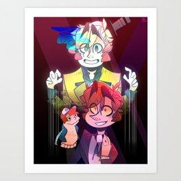 Sock Opera Art Print