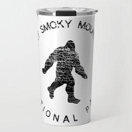 Great Smoky Mountains National Park Sasquatch Travel Mug
