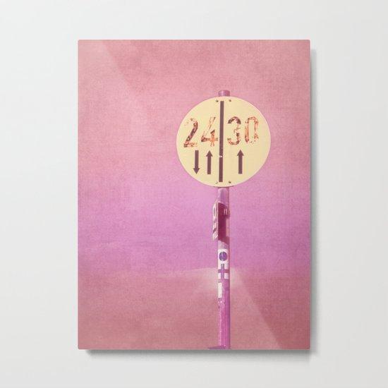 2430 Metal Print