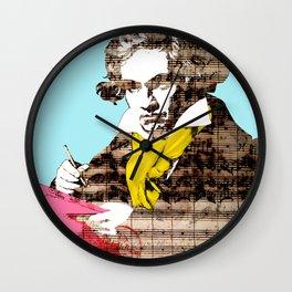 Ludwig van Beethoven 4 Wall Clock