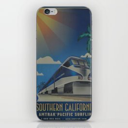 Vintage poster - Southern California iPhone Skin