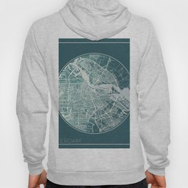 Amsterdam Map Planet Hoody