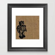 Automaton Framed Art Print