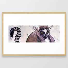 Ghost of Madagscar Framed Art Print