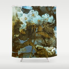 Fower in winter Shower Curtain