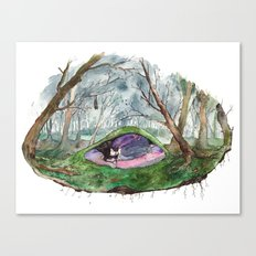 Dreaming of a forest Canvas Print