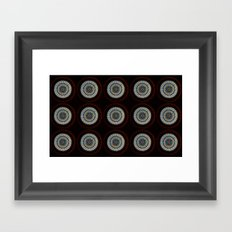 Stained Glass Trip Framed Art Print