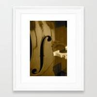 cello Framed Art Prints featuring Cello by CC McAlister