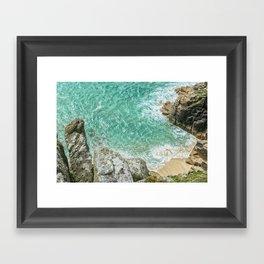 Cornish Paradise Framed Art Print