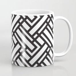black strips Coffee Mug