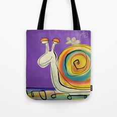 Mouse traveller in zen mode Tote Bag