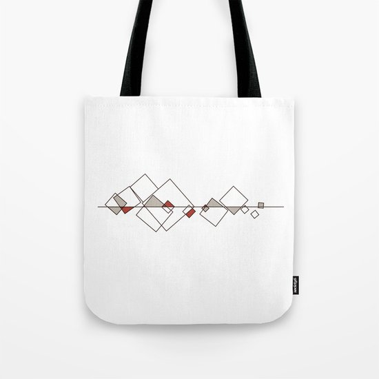 #413 Sunken city – Geometry Daily Tote Bag