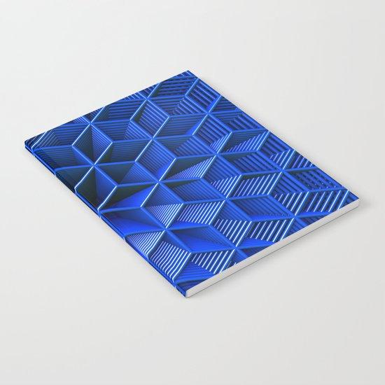 It's Blue Notebook