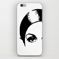 eye opener iPhone & iPod Skin