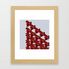 iron structure art 2 Framed Art Print
