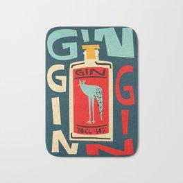 Gin Gin Gin Bath Mat