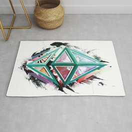 Ethereum Logo Abstract 01 Rug
