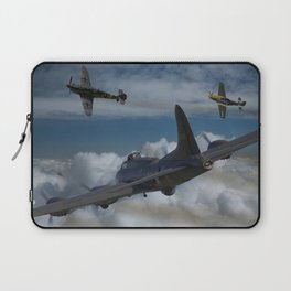 B17 and Fighter escort Laptop Sleeve