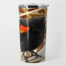 Juvenile Male Redwing Blackbird Travel Mug