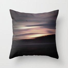 Evening shadows Throw Pillow