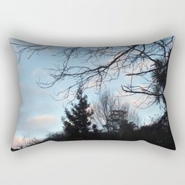 Pale Evening Rectangular Pillow