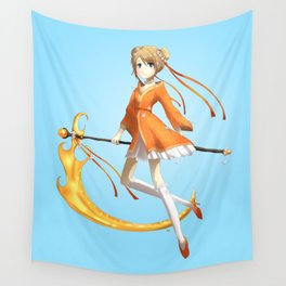 Orange Cream Death Wall Tapestry
