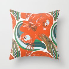 Imaginary Birds Throw Pillow