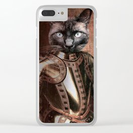Sir Russel Wallace III Clear iPhone Case