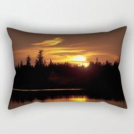 Northern Sunset 001 Rectangular Pillow