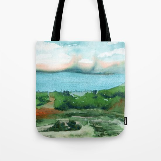 Passing Afternoon Tote Bag