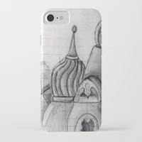 spires iPhone & iPod Cases featuring Spires by eckoepp