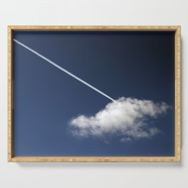 Cloud & Contrail Serving Tray