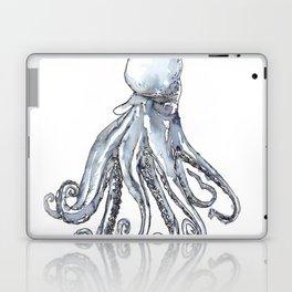 Octopus Watercolor Sketch Laptop & iPad Skin