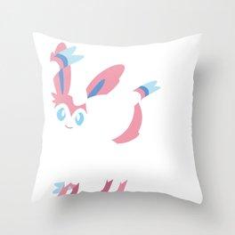 Sylveon Throw Pillow