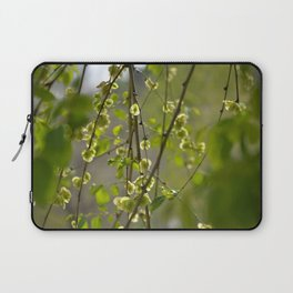 Having a Green Moment Laptop Sleeve