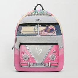 Pug Adventure Blossom Backpack
