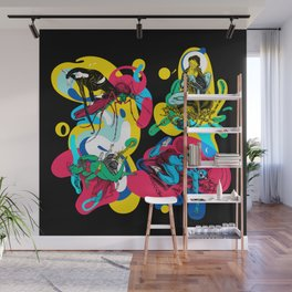 Girl Gang Wall Mural