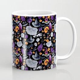 Halloween-Black Background Coffee Mug