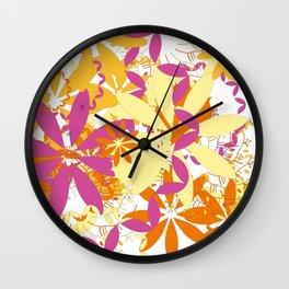 Cochin Remix #1 Wall Clock