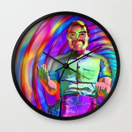 The Muffler Man vortex; Wall Clock