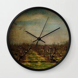 Apple Orchard Wall Clock