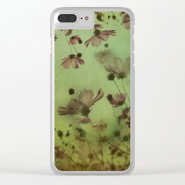 My soul is an imaginary garden Clear iPhone Case