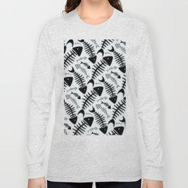 Fish N' Bone Light Pattern Long Sleeve T-shirt