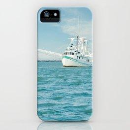 Shrimp boat 3 iPhone Case