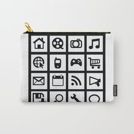 Web Icons Carry-All Pouch
