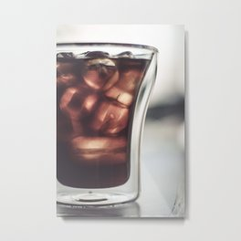 Cold Brew Metal Print