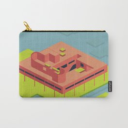 Villa Savoye and Le Corbusier Carry-All Pouch