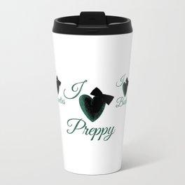 Preppy & Bowties  Travel Mug
