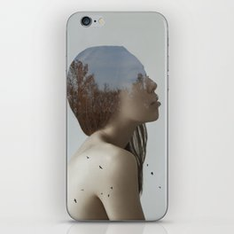 Being in nature iPhone Skin